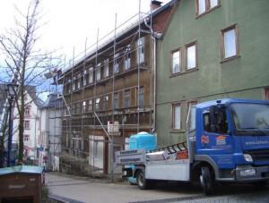 Dienstl-Gerüstbau-Dachfanggerüst