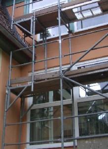 Kundenlex-Fassadegeruest